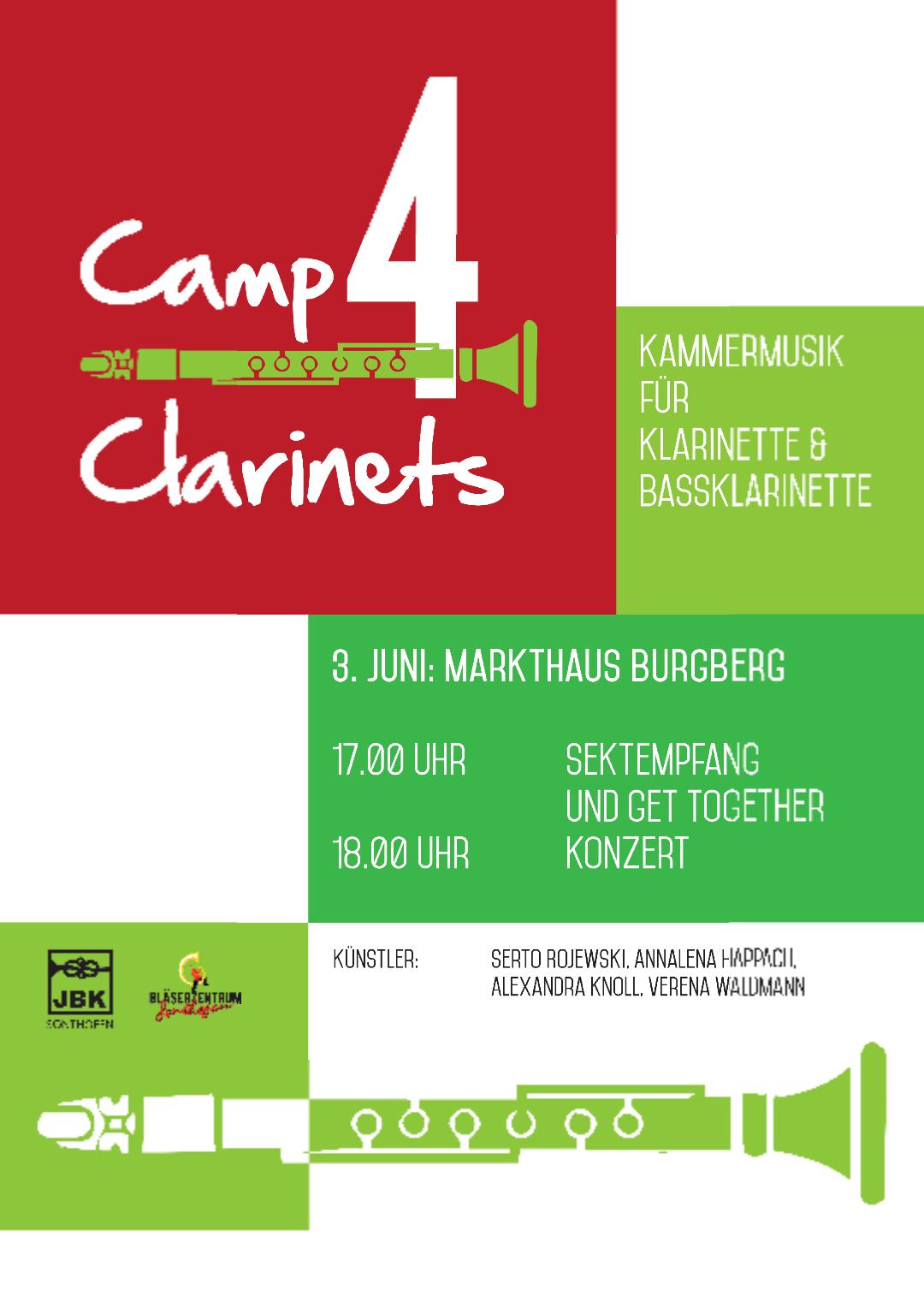 Camp4Clarinets Konzert