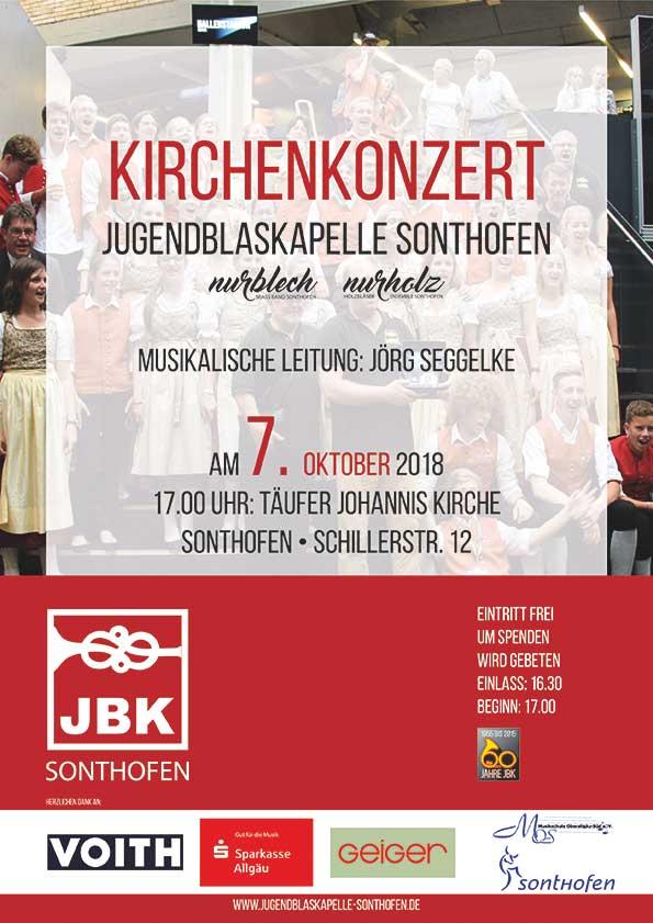 Plakat Kirchernkonzert 2018