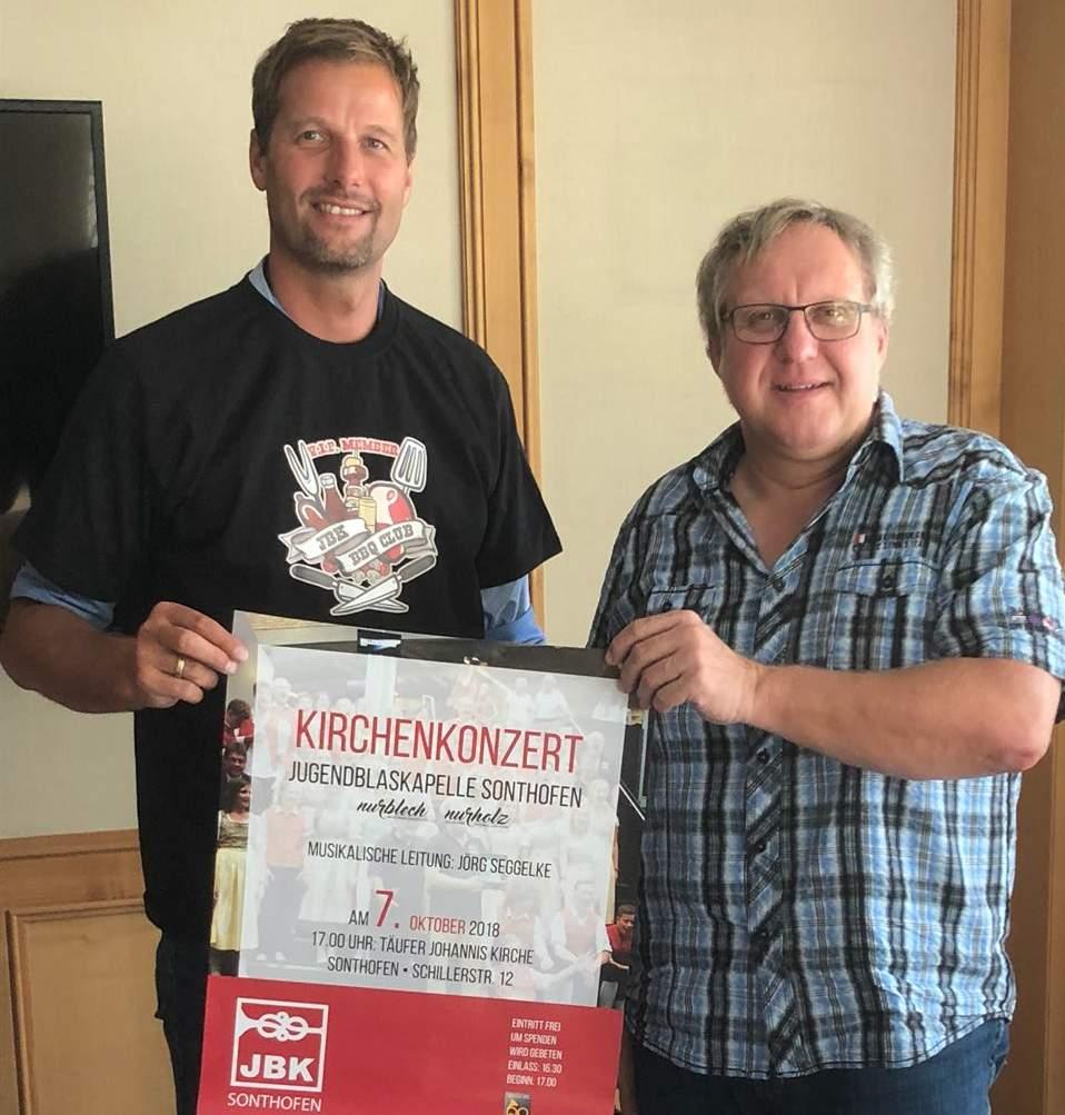 Bürgermeister Wilhelm wurde VIP Member im JBK BBQ Club
