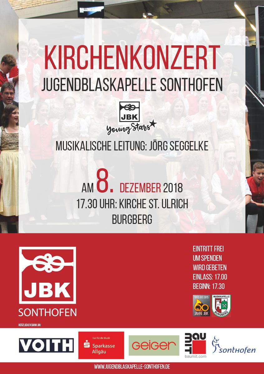 Plakat Kirchernkonzert Burgberg 2018