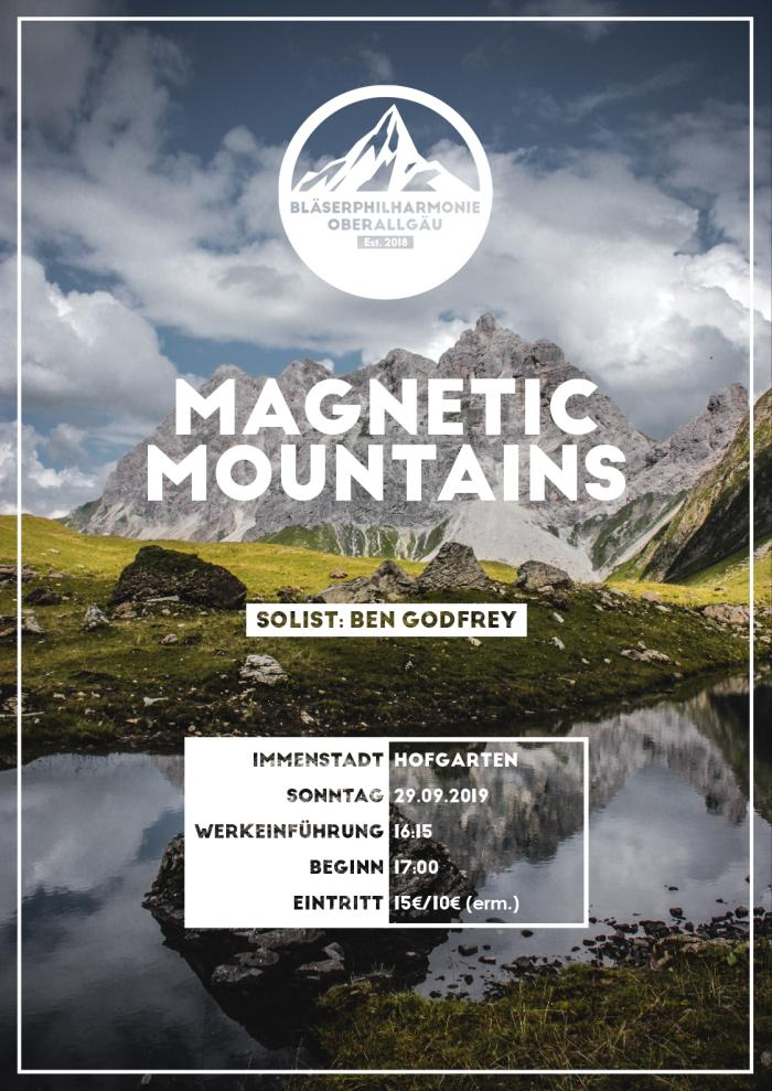 Plakat BPOA Magnetic Mountains